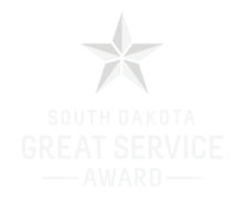 South Dakota Great Service Star